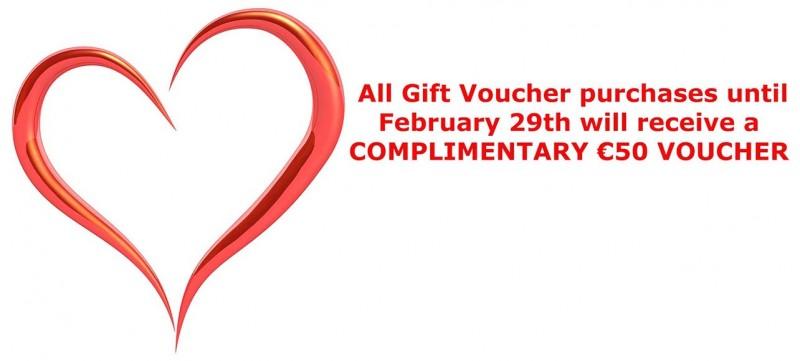 1PORTRAIT.ie Valentine's Day Gift Idea Special Offer Gift Voucher