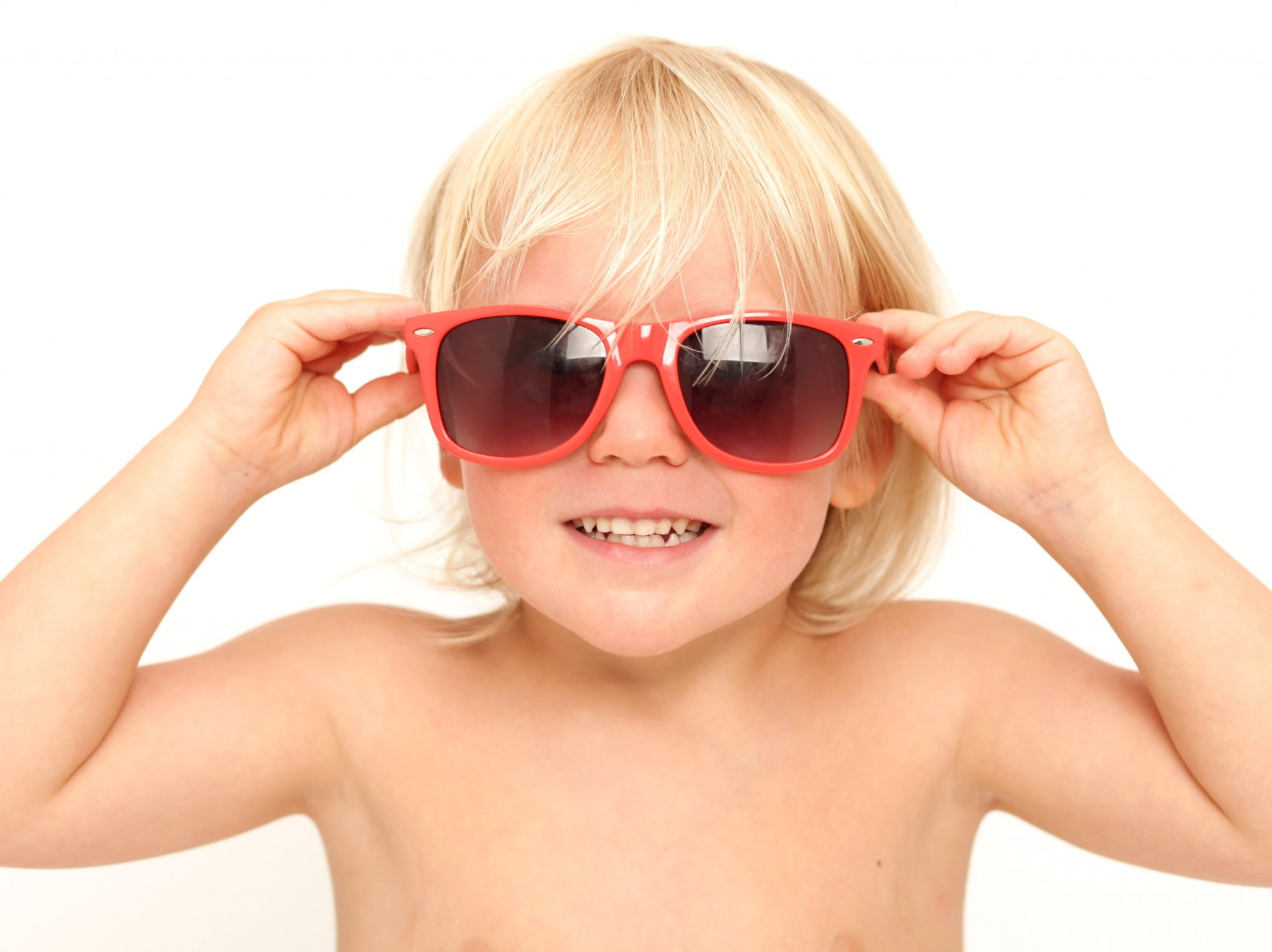Little boy wearing sunglasses Photo studio Family Photography Dublin