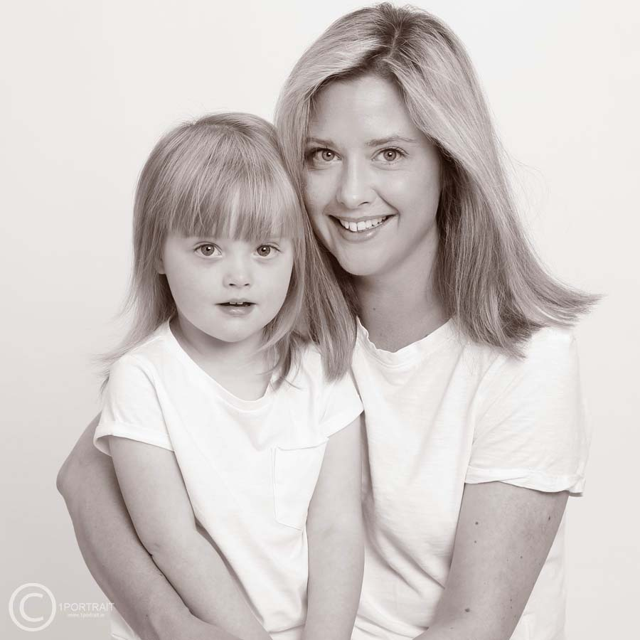Mother & Daughter Family Portrait www.1portrait.ie Christmas gift ideas for her