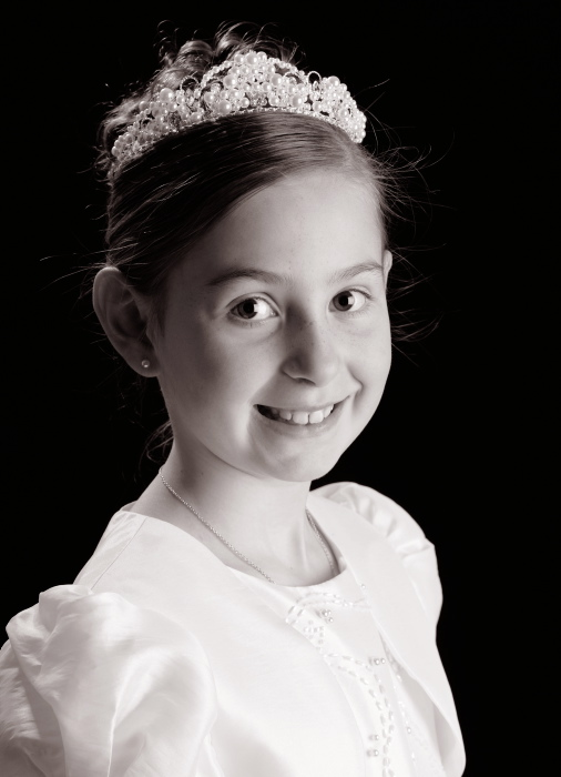 1PORTRAIT First Communion Studio Portrait Photography