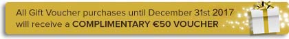 Photography Gift Vouchers - €50 free offer text The Perfect Christmas Gift www.1portrait.ie