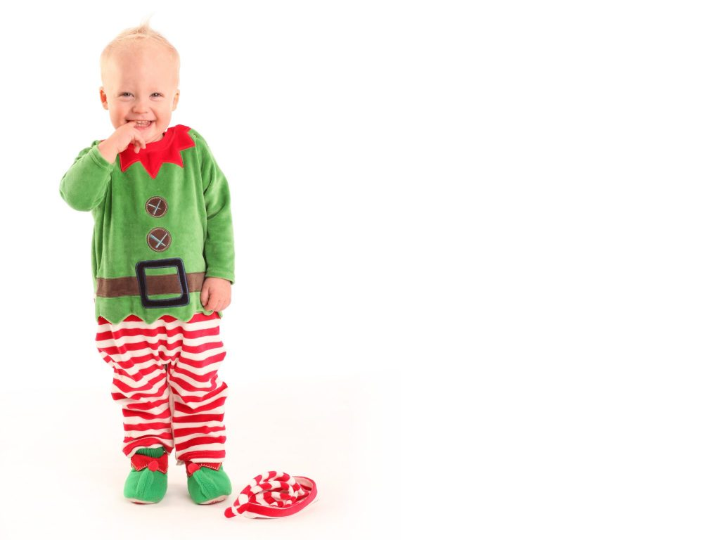 Best Christmas Gift Voucher Family Portrait Dublin little elf www.1portrait.ie