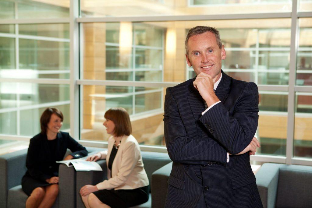 Professional business portrait company director