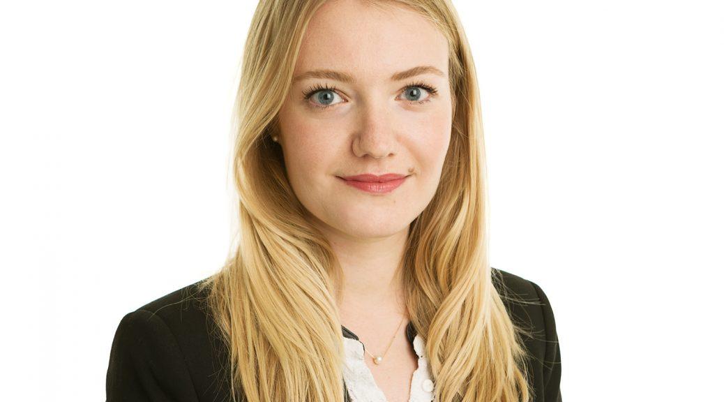 Corporate female professional business headshot studio white background