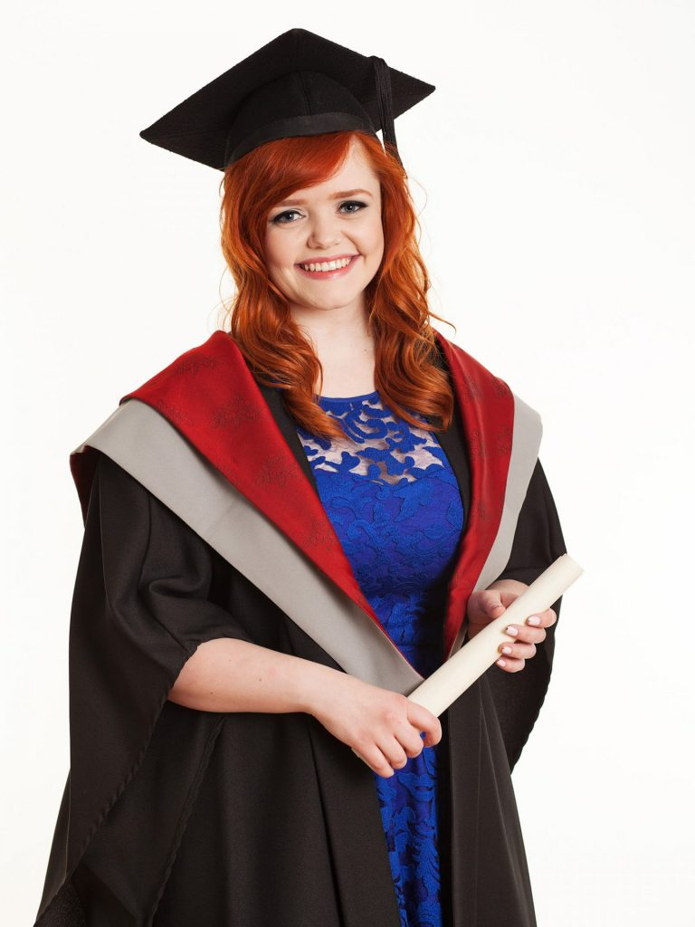 Graduation photographer dublin studio portrait photography